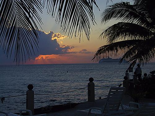 View west towards Playa del Carmen