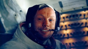 Neil Armstrong in LEM, July 20, 1969. (NASA/Newsmakers)