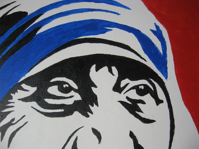 Mother Teresa's Eyes
