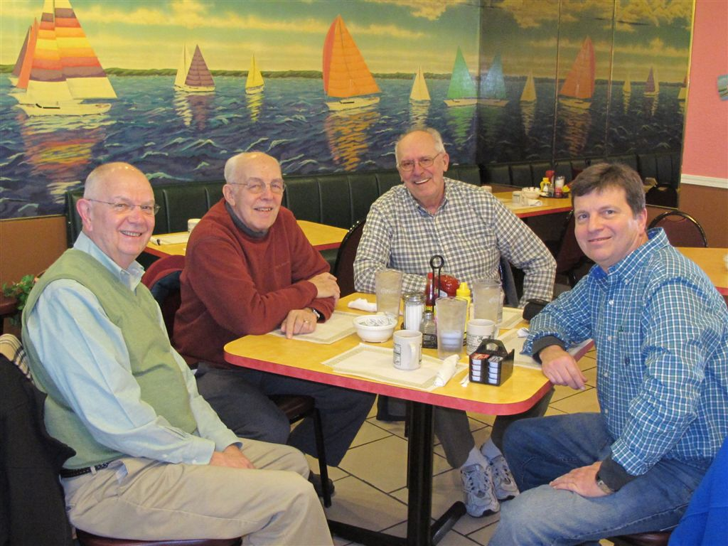 Left to right, Tony Dowell, Larry Souders, Leroy Kircher, Steve Dowell