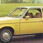 1980 Yellow Chevette