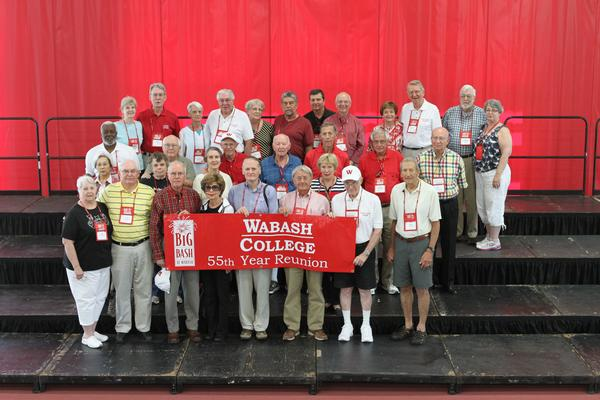 Class '59 Alums and signicant others (me).