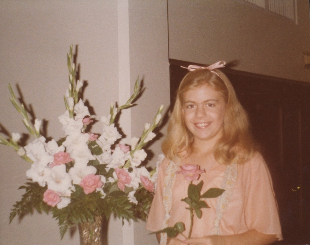 Kimberly Susan Dowell - Photograph from wedding reception of Stephen and Nichole, Spring 1985.