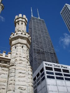 Hancock Center and Water Tower Place