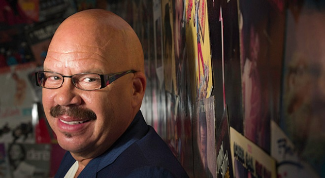 "Tom Joyner aka  ""The Fly Jock"" and ""The Hardest Working Man in Radio"""